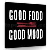 Obraz na plátně dobré jídlo 30 x 30 cm