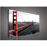 Obraz na plátně Golden Gate Bridge 75 x 100 cm