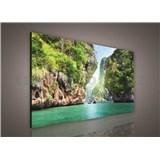 Obraz na plátně Thajsko 75 x 100 cm