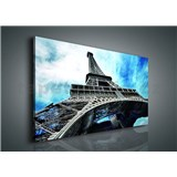 Obraz na plátně Eiffelova věž 100 x 75 cm