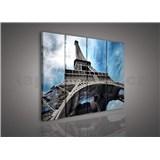 Obraz na plátně Eiffelova vež 120 x 80 cm