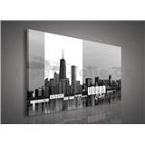 Obraz na plátně Urban City 75 x 100 cm