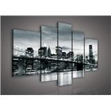 Obraz na plátně Brooklyn Bridge 170 x 100 cm