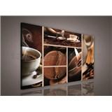 Obraz na plátně káva 75 x 100 cm