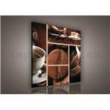 Obraz na plátně káva 80 x 80 cm