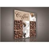 Obraz na pl�tn� Coffee 80 x 80 cm