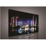 Obraz na pl�tn� Singapore 75 x 100 cm