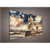 Obraz na plátně Tower Bridge 75 x 100 cm