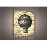 Obraz na plátně Ballon de Paris 80 x 80 cm