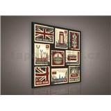 Obraz na plátně Londýn 80 x 80 cm