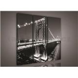 Obraz na plátně most 90 x 80 cm