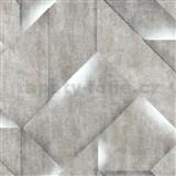 Vliesové tapety na zeď IMPOL Onyx 3D beton šedý