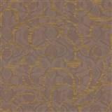 Vliesové tapety na zeď Opulence abstraktní vzor měděný-hnědý