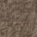 Vliesové tapety na zeď Origin - kámen obkladový hnědý