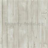 Vliesové tapety na zeď Origin - dřevěné prkna světle hnědé - POSLEDNÍ KUSY