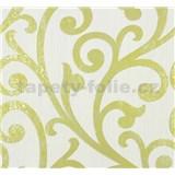 Vliesové tapety na zeď Ornamental Home - ornament zelený