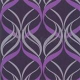 Luxusn� tapety na ze� Orpheo - ornamenty fialov�