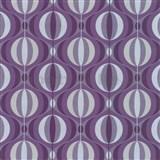 Luxusní tapety na zeď Orpheo retro cibule fialové - SLEVA