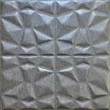 Samolepící pěnové 3D panely rozměr 70 x 70 cm, diamant šedý AKCE