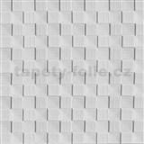 Samolepící pěnové 3D panely rozměr 69 x 69,5 cm, 3D dřevěná šachovnice bílá - AKCE, POSLEDNÍ KUSY