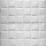 Samolepící pěnové 3D panely rozměr 70 x 69 cm, 3D moderní čtverce AKCE