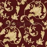 Tapety na ze� Poison - z�meck� vzor - zlat� - �erven� podklad