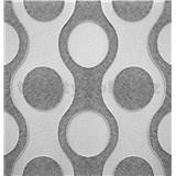 3D panel XPS CHAINS černo-šedý rozměr 50 x 50 cm