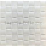 3D panel XPS CHESS bílý rozměr 50 x 50 cm