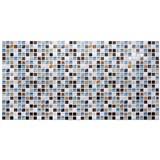 Obkladové 3D PVC panely rozměr 955 x 480 mm mozaika Island modrá