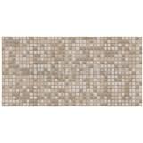 Obkladové 3D PVC panely rozměr 955 x 480 mm mozaika Peru hnědá se vzorem