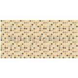 Obkladové 3D PVC panely rozměr 955 x 480 mm mozaika Tunis béžová