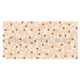 Obkladové 3D PVC panely rozměr 955 x 480 mm mozaika hnědá