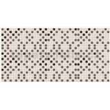 Obkladové 3D PVC panely rozměr 955 x 480 mm mozaika hnědo-béžová