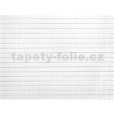 Obkladové 3D PVC panely rozměr 440 x 580 mm mozaika bílá matná