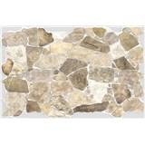 Obkladové 3D PVC panely rozměr 984 x 633 mm, tloušťka 0,6mm, ukládaný kámen béžový