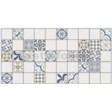 Obkladové 3D PVC panely rozměr 955 x 476 mm mozaika Marocco