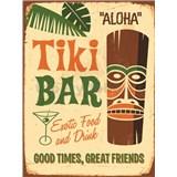 Retro cedule Tiki Bar 40 x 30 cm