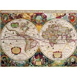 Retro cedule World Map 40 x 30 cm