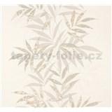 Vliesové tapety na zeď Sinfonia listy hnědo-zelené