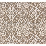 Vliesové tapety na zeď Sinfonia ornament pískově hnědý