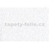 Papírové tapety na zeď - strukturovaná bílá