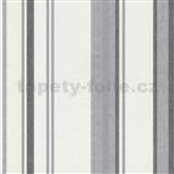Vliesové tapety na zeď Spotlight - pruhy šedé