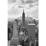 Vliesové fototapety New York Black and White rozměr 124 cm x 184 cm