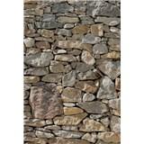 Vliesové fototapety kamenná zeď rozměr 124 cm x 184 cm