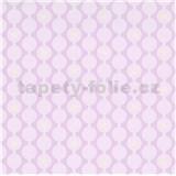 Vliesové tapety na zeď IMPOL Sweet and Cool řetízkovitý vzor s hvězdami růžový