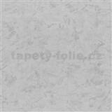 Vliesové tapety na zeď - strukturovaná omítkovina šedá