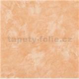 Papírové tapety na zeď strukturovaná omítkovina oranžová