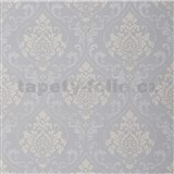 Tapety na zeď Collection 2 zámecký vzor šedý