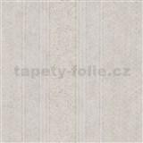 Vliesové tapety IMPOL Timeless drobné ornamenty bílé na béžovém podkladu