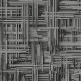 Vliesové tapety na zeď Times 3D modern tmavě šedo-stříbrné